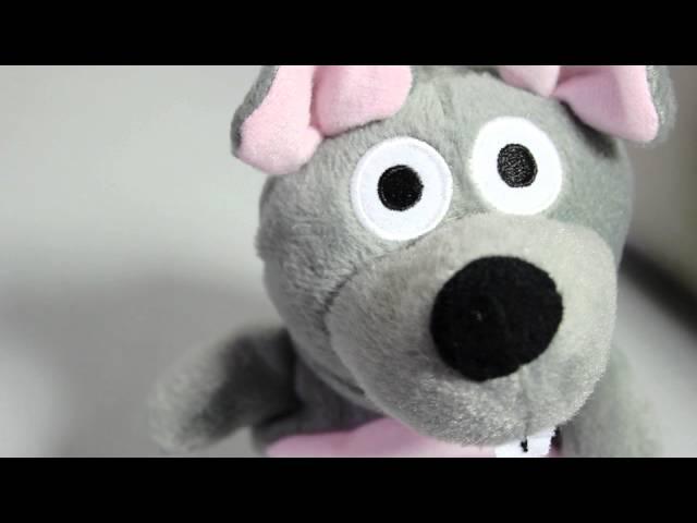 Sprechende Plüsch Maus