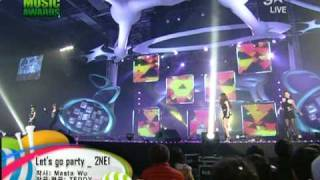 [HQ] 2NE1 - Let's Go Party @2009 Melon Music Awards