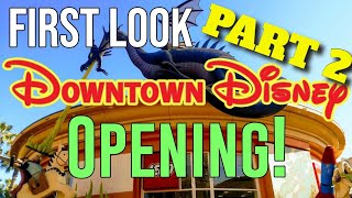 🔴LIVE DOWNTOWN DISNEY REOPENING!