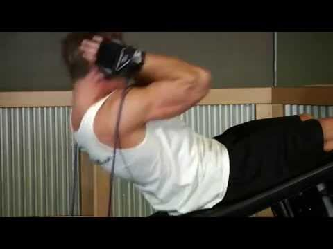Abdominals Weighted Sit Ups With Bands ABS INTERMEDIATE