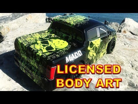 The COOLEST and The CHEAPEST 1/10 Scale RC CAR EVER with BODY ART