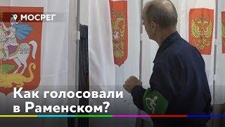 Камеры и полиция. Как выбирали Совет депутатов в Раменском
