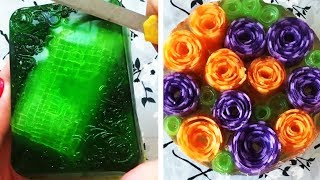 The Most Satisfactory Videos Of Cutting Soap, Crushing Soap, Soap Of Cubes And More 5