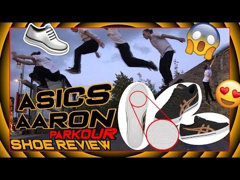 CRAZY GRIP - New Best Parkour Shoe - Asics Aaron Shoe Review & Test