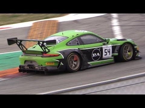 2019 Porsche 991.2 GT3 R Testing at Monza Circuit