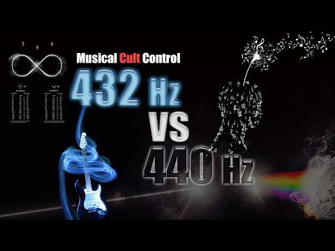 Musical Cult Control ~ 432 Hz vs 440 Hz