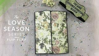 Flip Flap | DIY Anniversary Gift Idea | Valentines Day/Anniversary Scrapbook| Blackbands
