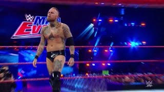 Aleister Black vs Curt Hawkins - WWE  Main Event | Black