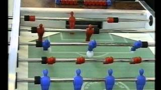 preview picture of video 'Tischfussball WM Oberwart 2002 Marian Drabik & Peter Nigitz vs Andreas Tkautz & his partner'