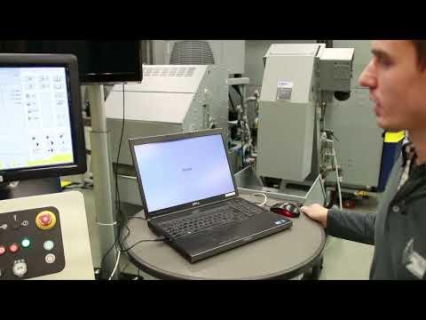 Automatisches Vermessen von Bauteilen auf Gantry Eagle Senkerodiermaschine