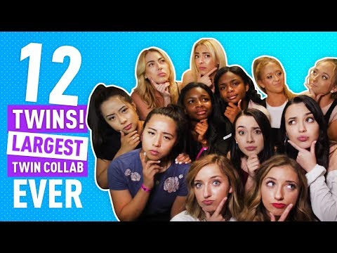 LARGEST TWIN COLLAB EVER FT. BROOKLYN AND BAILEY, MERRELL TWINS AND MORE!!!