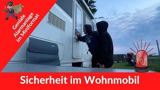 Sicherheit im Wohnmobil - Geniale Alarmanlage für´s Womo im Miniformat *337