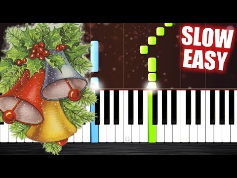 Twelve Days of Christmas - SLOW EASY Piano Tutorial by PlutaX