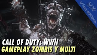 Call of Duty WWII - Tres horas de multi y zombis