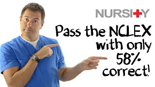 How to Pass the NCLEX with Only 58% (for 2019 NLCEX)