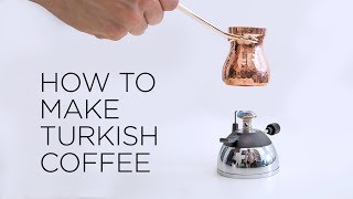 How To Make Turkish Coffee | ECT Weekly #024