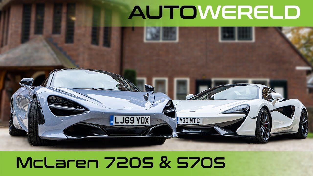McLaren 570s & 720s met Tom Coronel en Andreas Pol