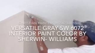 Versatile Gray SW 6072 Interior Paint Color By Sherwin- Williams