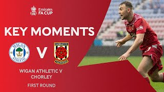 Wigan Athletic v Chorley | Key Moments | First Round | Emirates FA Cup 2020-21
