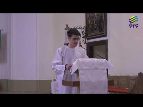 Húsvét vasárnapi szentmise - Közvetítés felvételről a nagyatádi Szent Kereszt Felmagasztalása plébániatemplomból