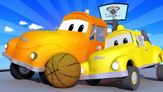 Эвакуатор Том - КРАН малыш Чарли и ТАКСИ малыш Джереми ЗАПУТАЛИСЬ! - детский мультфильм