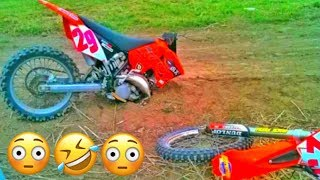 KTM Snaps In Half! | Mark Freeman #408