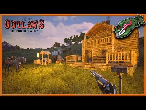 Outlaws of the Old West   New Survival Wild West Game, 1st 30 Mins (Outlaws Early Access Gameplay)