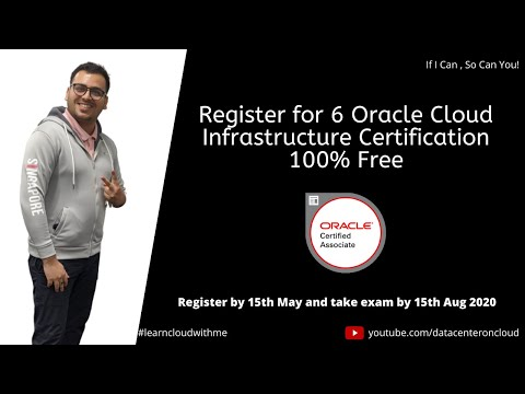 Oracle Cloud Infrastructure Certification Exam free till 15 AUG ...