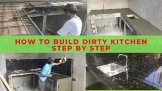 Paano Paggawa Ng Kitchen Extension | Dirty Kitchen