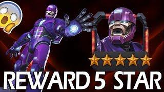 SENTINEL 5 star ARENA resultados   Marvel Contest of Champions