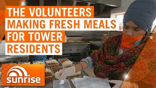 Coronavirus: The volunteers making fresh meals for locked down Melbourne tower residents | 7NEWS