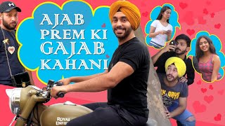 Ajab Prem Ki Gajab Kahani feat. Swagger Sharma  | SahibNoor Singh