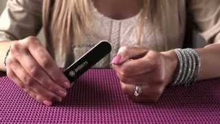 Filing Technique: Straight For Applying Jamberry Nail Wraps - Christina Chitwood Performance