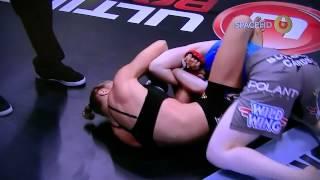 RondaRousey vs  Sarah Kaufman