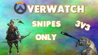 THE CHOKE OF A LIFE TIME!! - Overwatch Elimination Challenge w/ Shively (Snipers only)
