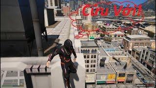 GTA 5 Tập Nhảy Parkour Trên Tòa Nhà 100 Tầng Và Cái Kết Té Lầu Đầy Thương Tâm