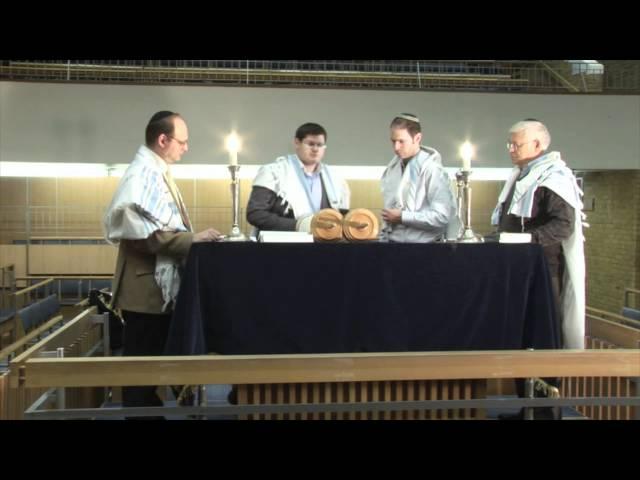 Having an Aliyah (being called up to the Torah)