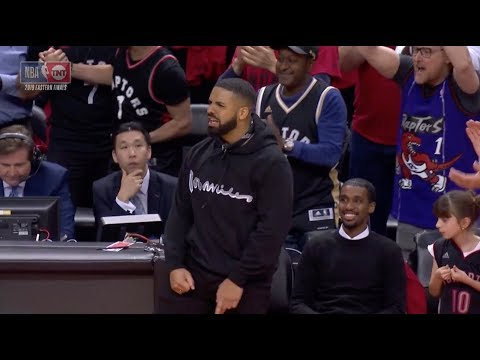 Kawhi Leonard Snatched A Ridiculous Rebound And Drake Went Crazy