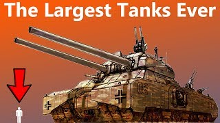 These Are The Largest Tanks Ever Designed