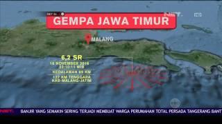 Gempa 62 SR Guncang Jember Jawa Timur Warga Sempat Panik  NET 24