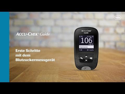 Accu-Chek Guide: Erste Schritte mit dem Blutzuckermessgerät