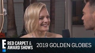 Taylor Swift Surprises Elisabeth Moss at the 2019 Golden Globes | E! Red Carpet & Award Shows