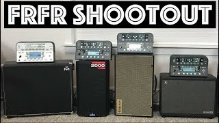 FRFR Cabinet Shootout! I Which FRFR should you buy?