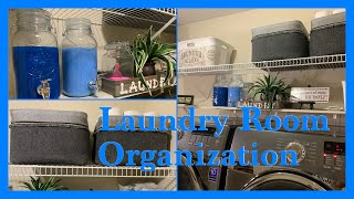 🧺 LAUNDRY ROOM 🧺ORGANIZATION/CLEAN AND ORGANIZE WITH ME