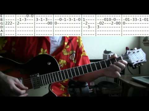 guitar lessons online Pipeline by the Chantays tab