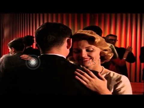 Couples dancing and drinking inside a night club in United States. HD Stock Footage