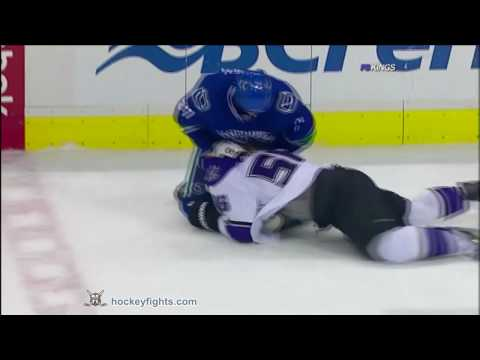 Rick Rypien vs. Richard Clune