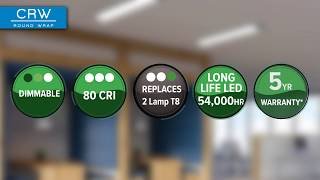 video: Columbia Lighting CRW Round Wrap