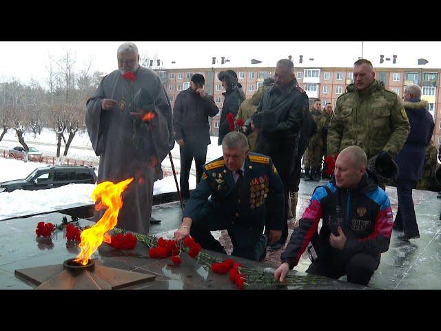 В Ангарске прошёл траурный митинг