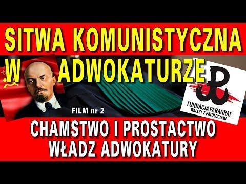 Skandaliczne chamstwo adwokatury - Sitwa komuchów w adwokaturze, cz. 2